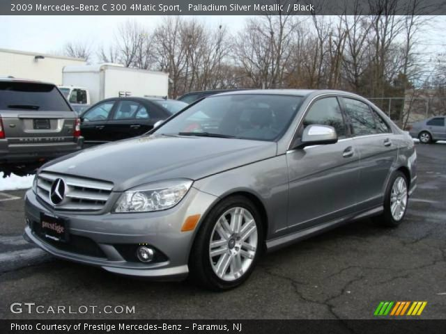 Palladium silver metallic 2009 mercedes benz c 300 for 2009 mercedes benz c 300