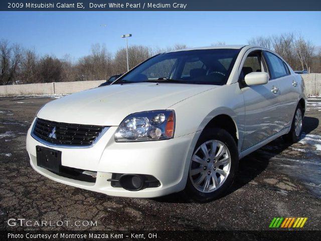 Dover White Pearl - 2009 Mitsubishi Galant ES - Medium ...