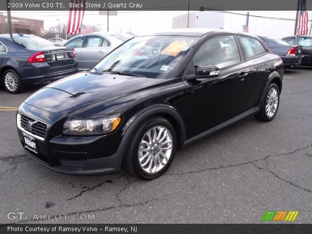 2009 Volvo C30 T5 in Black Stone