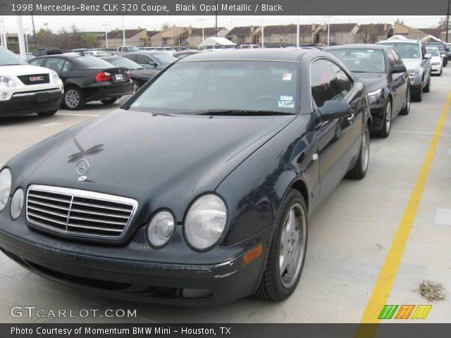 Black opal metallic 1998 mercedes benz clk 320 coupe for 1998 mercedes benz clk 320