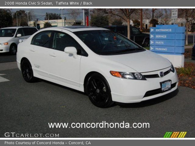 Honda Civic Si 2008 White