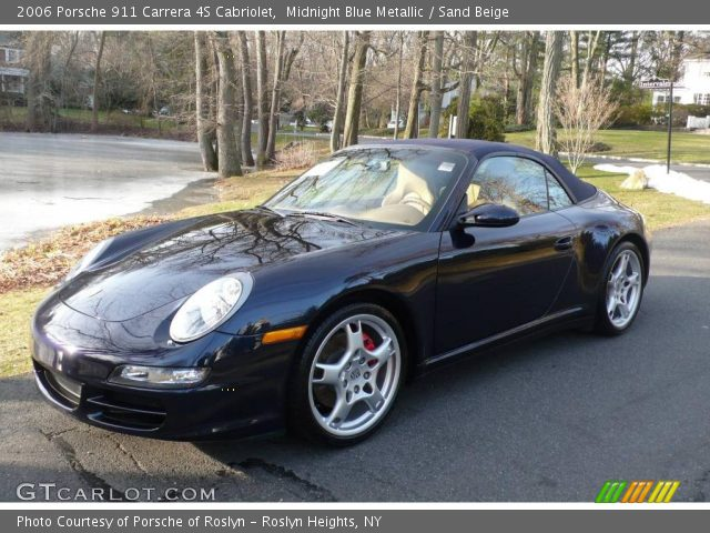 midnight blue metallic 2006 porsche 911 carrera 4s. Black Bedroom Furniture Sets. Home Design Ideas