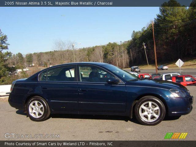 Majestic blue metallic 2005 nissan altima 3 5 sl - 2005 nissan altima custom interior ...