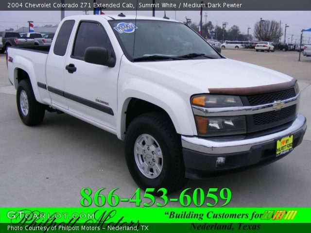 2004 Chevrolet Colorado Z71 Extended Cab in Summit White