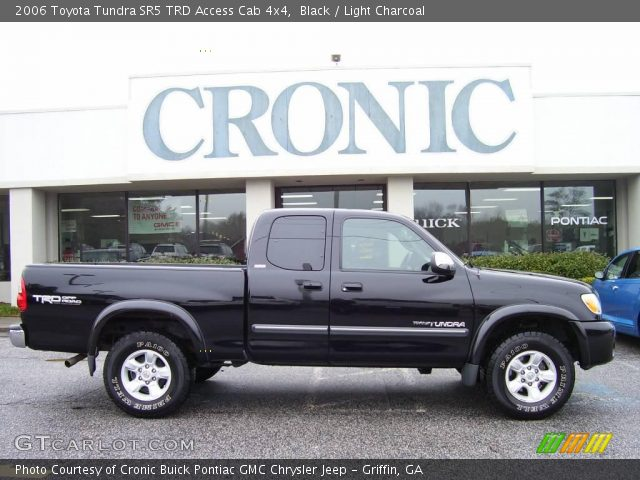 black 2006 toyota tundra sr5 trd access cab 4x4 light charcoal interior. Black Bedroom Furniture Sets. Home Design Ideas