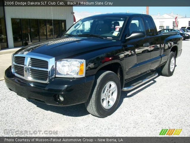 black 2006 dodge dakota slt club cab medium slate gray interior vehicle. Black Bedroom Furniture Sets. Home Design Ideas