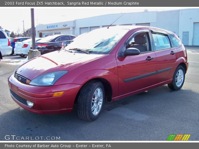 sangria red metallic 2003 ford focus zx5 hatchback. Black Bedroom Furniture Sets. Home Design Ideas