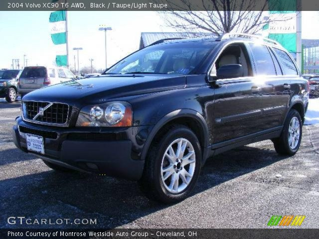 black 2004 volvo xc90 t6 awd taupe light taupe interior vehicle archive. Black Bedroom Furniture Sets. Home Design Ideas