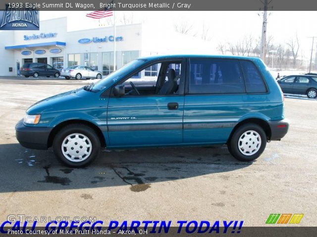 1993 Eagle Summit DL Wagon in Bright Turquoise Metallic