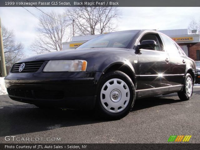 black magic pearl 1999 volkswagen passat gls sedan black interior vehicle. Black Bedroom Furniture Sets. Home Design Ideas
