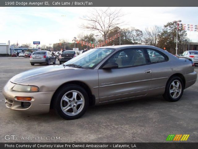cafe latte 1998 dodge avenger es black tan interior gtcarlot com vehicle archive 24589272 gtcarlot com
