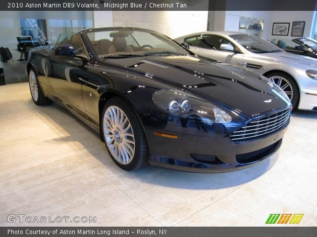 2010 Aston Martin DB9 Volante in Midnight Blue