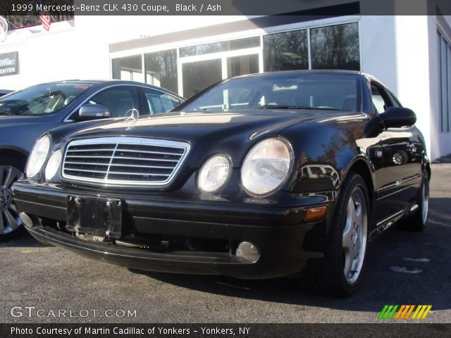 Black 1999 mercedes benz clk 430 coupe ash interior for 1999 mercedes benz clk 430