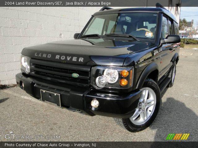 java black 2004 land rover discovery se7 alpaca beige interior vehicle. Black Bedroom Furniture Sets. Home Design Ideas