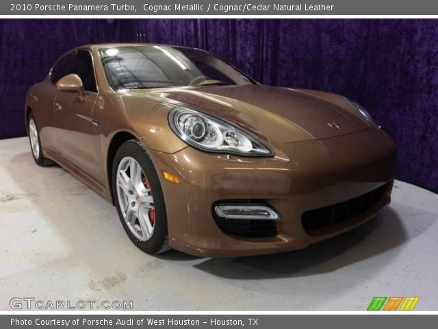 cognac metallic 2010 porsche panamera turbo cognac cedar natural leather interior gtcarlot. Black Bedroom Furniture Sets. Home Design Ideas