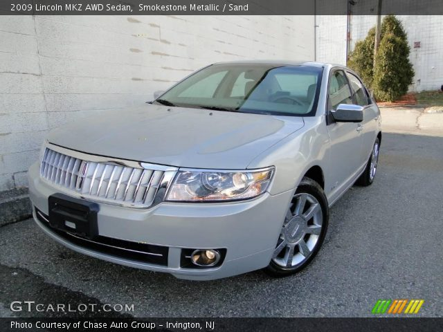 2009 Lincoln MKZ AWD Sedan in Smokestone Metallic. Click to see large ...