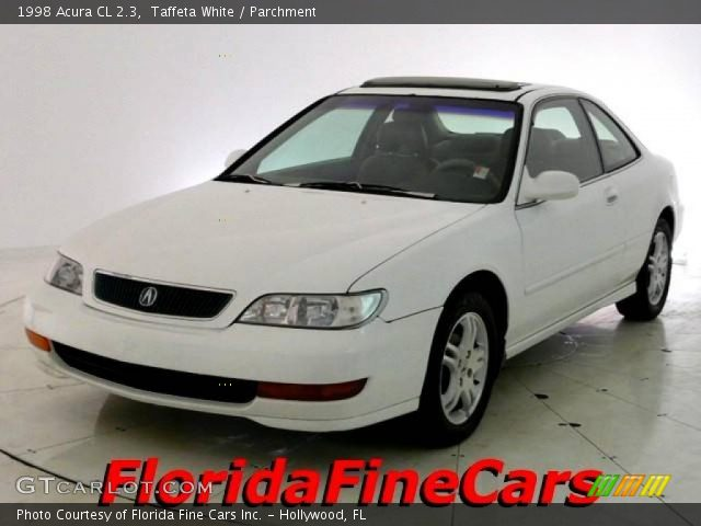 taffeta white 1998 acura cl 2 3 parchment interior. Black Bedroom Furniture Sets. Home Design Ideas