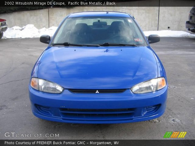 pacific blue metallic 2002 mitsubishi mirage de coupe. Black Bedroom Furniture Sets. Home Design Ideas
