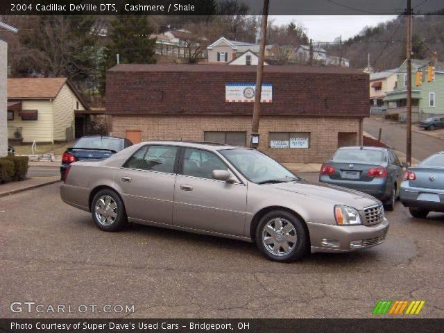 Cashmere 2004 Cadillac Deville Dts Shale Interior Vehicle Archive 25063159