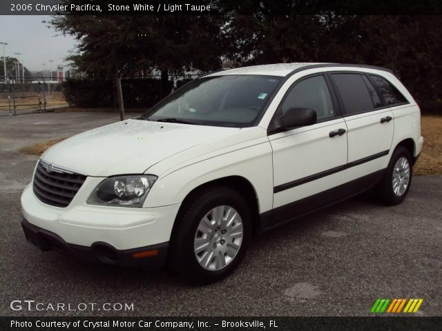 Stone White 2006 Chrysler Pacifica Light Taupe Interior Vehicle Archive