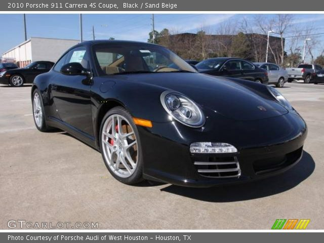 black 2010 porsche 911 carrera 4s coupe sand beige interior vehicle archive. Black Bedroom Furniture Sets. Home Design Ideas
