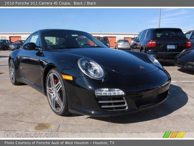 black 2010 porsche 911 carrera 4s coupe black interior vehicle archive. Black Bedroom Furniture Sets. Home Design Ideas