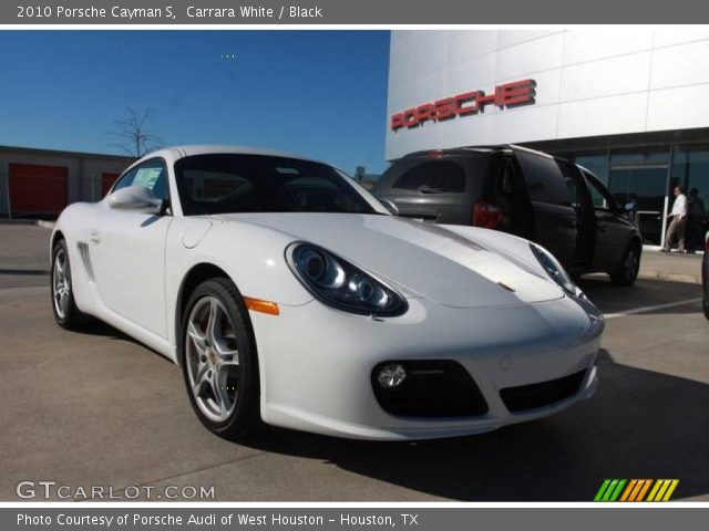 carrara white 2010 porsche cayman s black interior. Black Bedroom Furniture Sets. Home Design Ideas