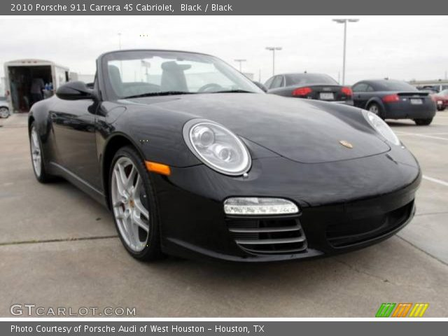 black 2010 porsche 911 carrera 4s cabriolet black interior vehicle archive. Black Bedroom Furniture Sets. Home Design Ideas