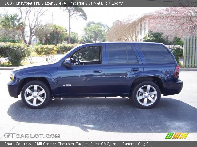 imperial blue metallic 2007 chevrolet trailblazer ss 4x4. Black Bedroom Furniture Sets. Home Design Ideas