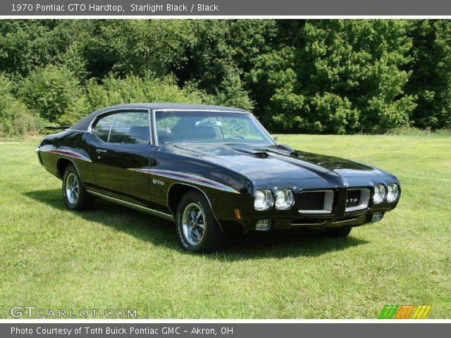 Starlight Black 1970 Pontiac