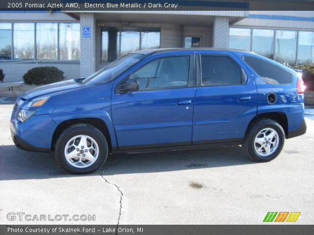 electric blue metallic 2005 pontiac aztek awd dark. Black Bedroom Furniture Sets. Home Design Ideas