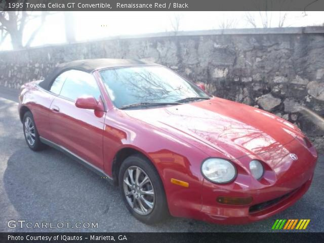 renaissance red 1995 toyota celica gt convertible. Black Bedroom Furniture Sets. Home Design Ideas