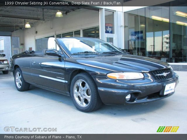 deep slate pearl 1999 chrysler sebring jxi convertible. Black Bedroom Furniture Sets. Home Design Ideas