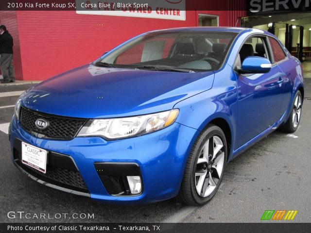 Corsa blue 2010 kia forte koup sx black sport interior vehicle archive for 2010 kia forte koup interior