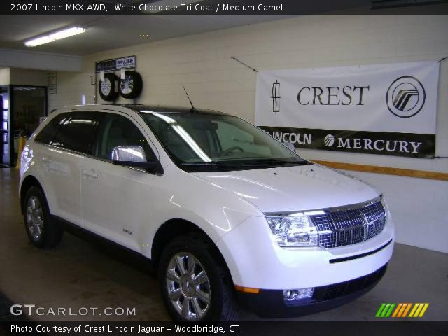 2007 Lincoln MKX AWD in White Chocolate Tri Coat. Click to see large ...