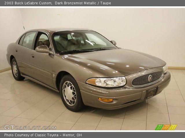 Dark Bronzemist Metallic - 2003 Buick LeSabre Custom - Taupe Interior ...