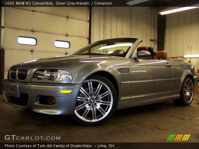 Silver grey metallic 2005 bmw m3 convertible cinnamon - E46 m3 cinnamon interior for sale ...