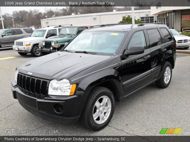 black 2006 jeep grand cherokee laredo medium slate gray interior. Cars Review. Best American Auto & Cars Review