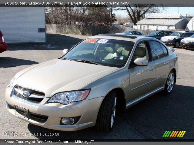 harvest gold metallic 2008 subaru legacy 3 0r limited. Black Bedroom Furniture Sets. Home Design Ideas