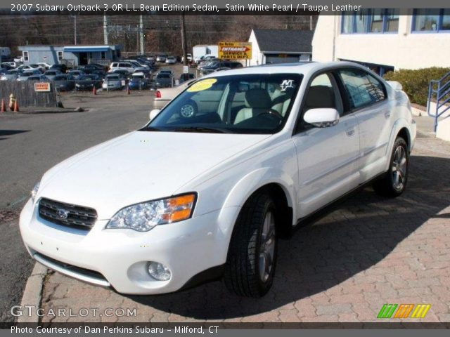 satin white pearl 2007 subaru outback 3 0r l l bean. Black Bedroom Furniture Sets. Home Design Ideas
