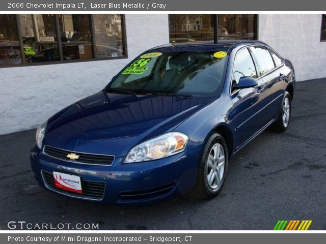 laser blue metallic 2006 chevrolet impala lt gray. Black Bedroom Furniture Sets. Home Design Ideas