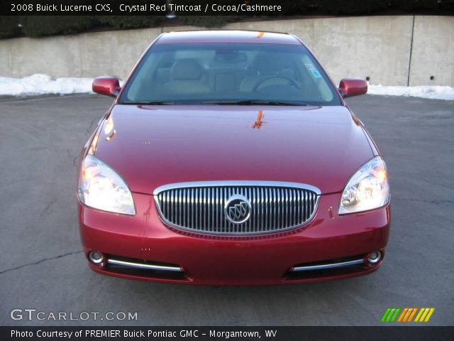 2008 Buick Lucerne CXS in Crystal Red Tintcoat. Click to see large ...