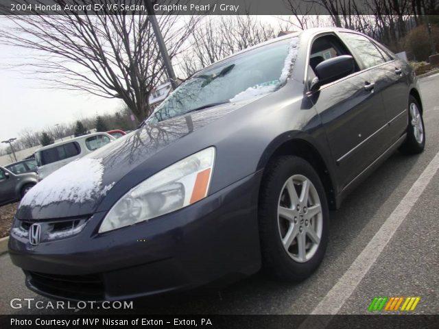 2004 Honda Accord EX V6 Sedan in Graphite Pearl