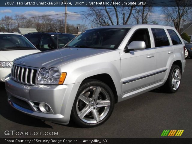 2007 jeep grand cherokee srt8 4x4 in bright silver metallic click to. Cars Review. Best American Auto & Cars Review