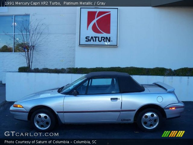 platinum metallic 1991 mercury capri xr2 turbo gray interior gtcarlot com vehicle