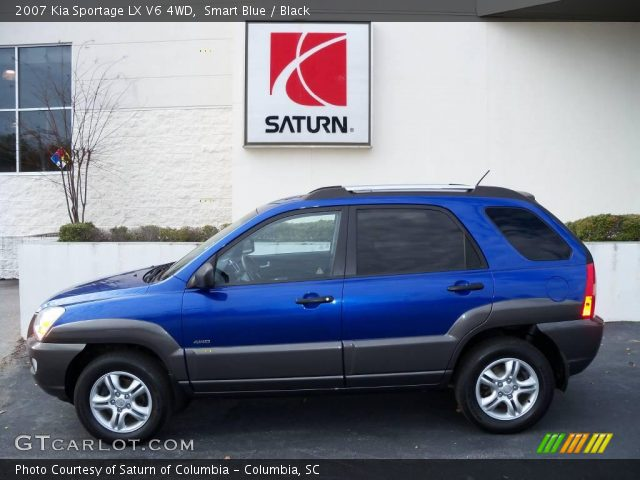 2007 Kia Sportage LX V6 4WD in Smart Blue