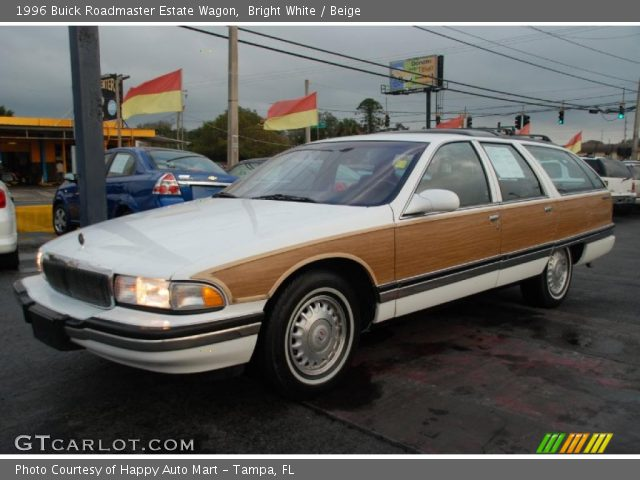 1996 Buick Roadmaster Estate Wagon in Bright White. Click to see large ...