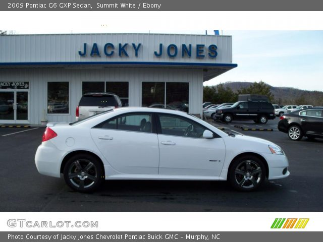 Summit White 2009 Pontiac G6 Gxp Sedan Ebony Interior Gtcarlot Com Vehicle Archive 25841850