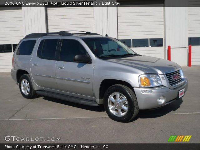 liquid silver metallic 2006 gmc envoy xl slt 4x4 light. Black Bedroom Furniture Sets. Home Design Ideas
