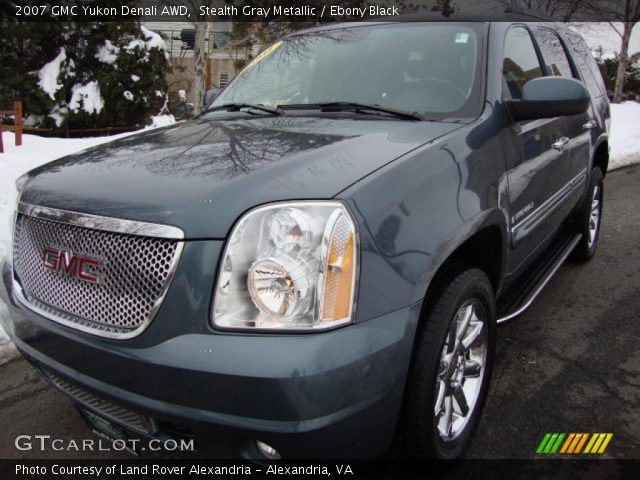 2007 Gmc Yukon Denali Interior. Stealth Gray Metallic 2007 GMC Yukon Denali AWD with Ebony Black interior